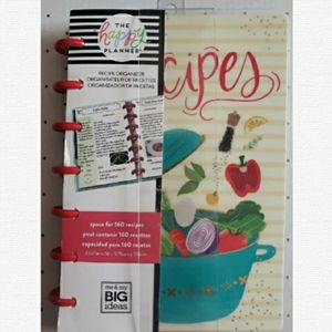 The Happy Planner-Mini Recipe Organizer